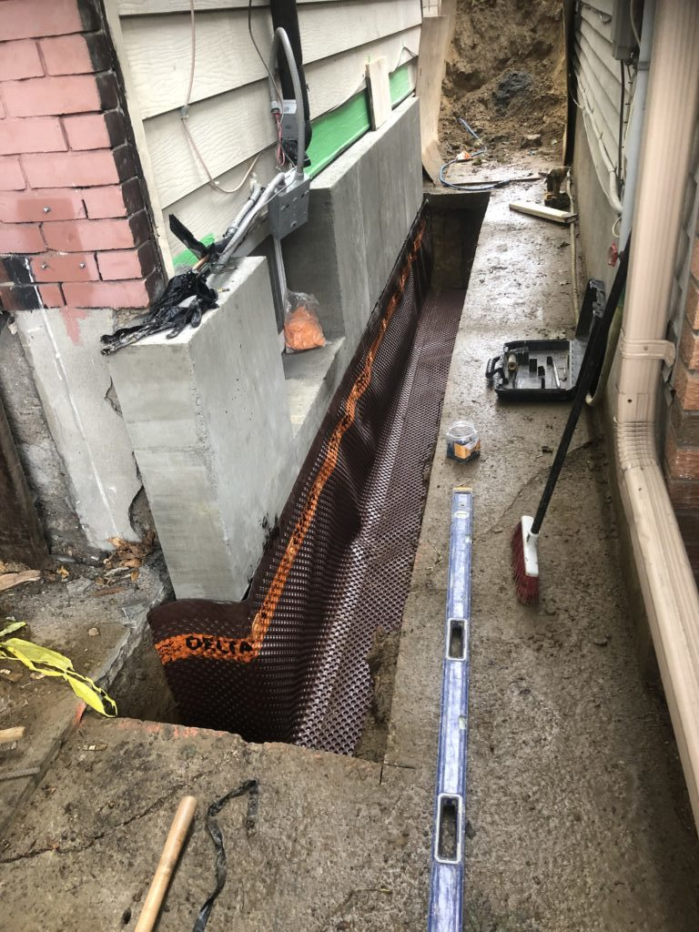 Foundation repair and crack repair