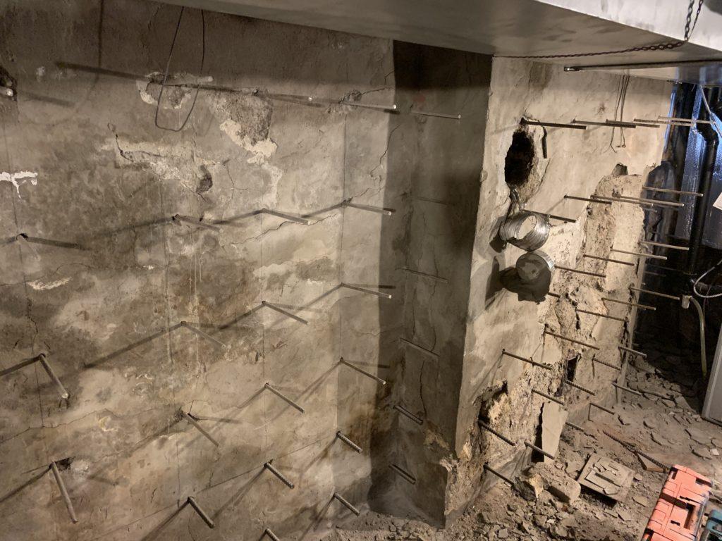 Basement Foundation Repair for Samuel Mr.in Ajax ON