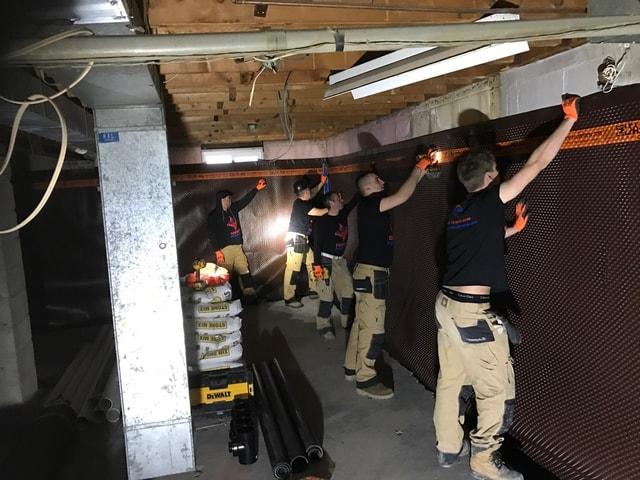 Basement Lowering Job in Brampton ON