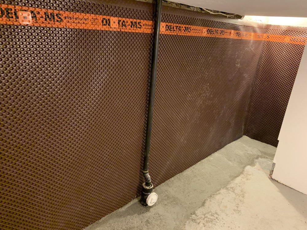 External Waterproofing for Andy Mr. in East York